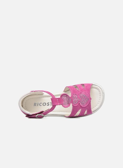 Sandals Ricosta Pippa Pink view from the left