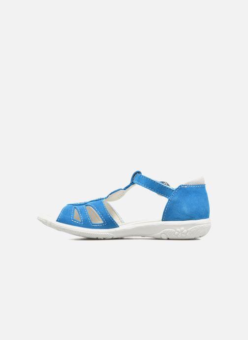 Sandalias Ricosta Pippa Azul vista de frente