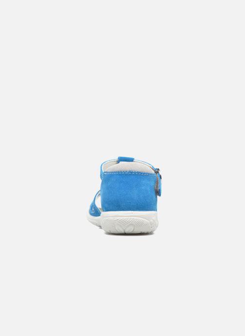 Sandalias Ricosta Pippa Azul vista lateral derecha