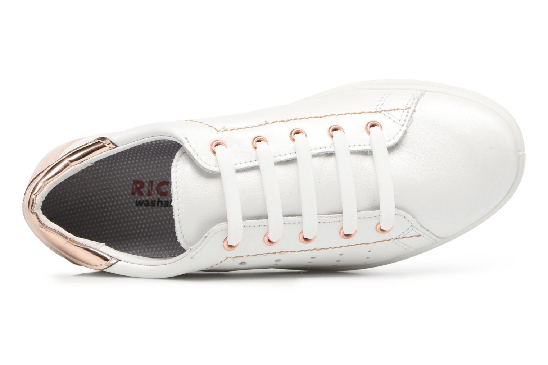 Sneaker Ricosta Midori weiß ansicht von links