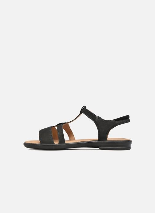 Sandali e scarpe aperte Ricosta Kalja Nero immagine frontale