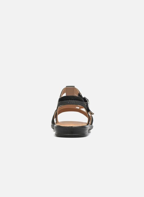 Sandali e scarpe aperte Ricosta Kalja Nero immagine destra