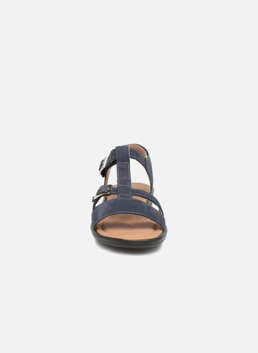 Sandalen Ricosta Kalja blau schuhe getragen