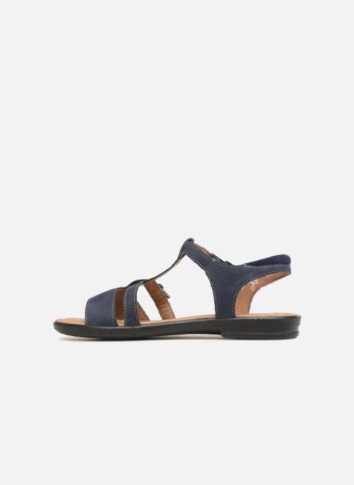Sandals Ricosta Kalja Blue front view