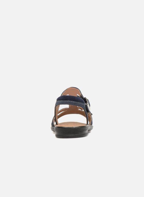 Sandales et nu-pieds Ricosta Kalja Bleu vue droite