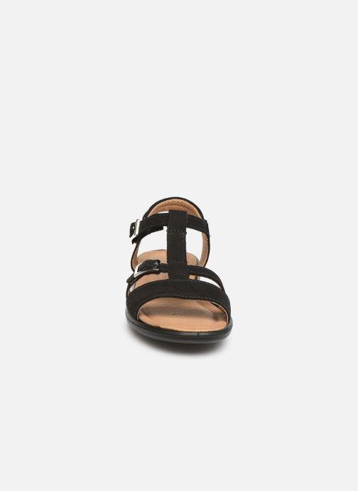 Sandales et nu-pieds Ricosta Kalja Noir vue portées chaussures