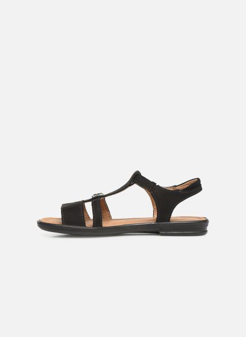Sandales et nu-pieds Ricosta Kalja Noir vue face