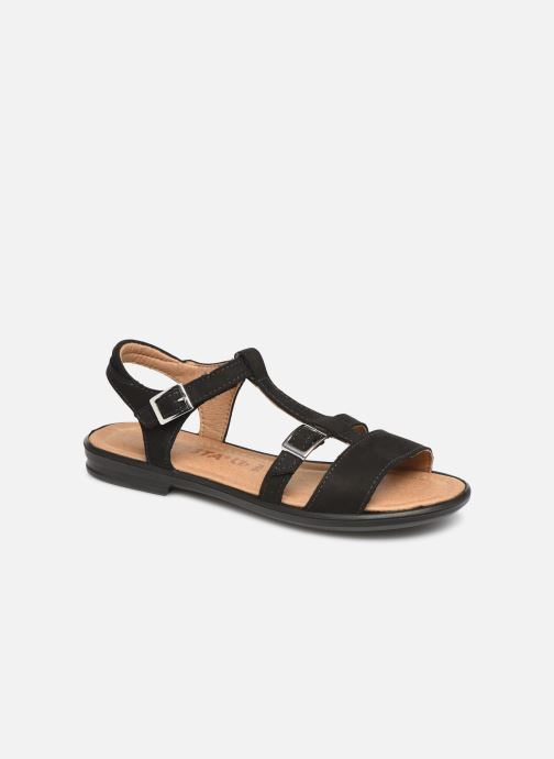 Sandals Ricosta Kalja Black detailed view/ Pair view
