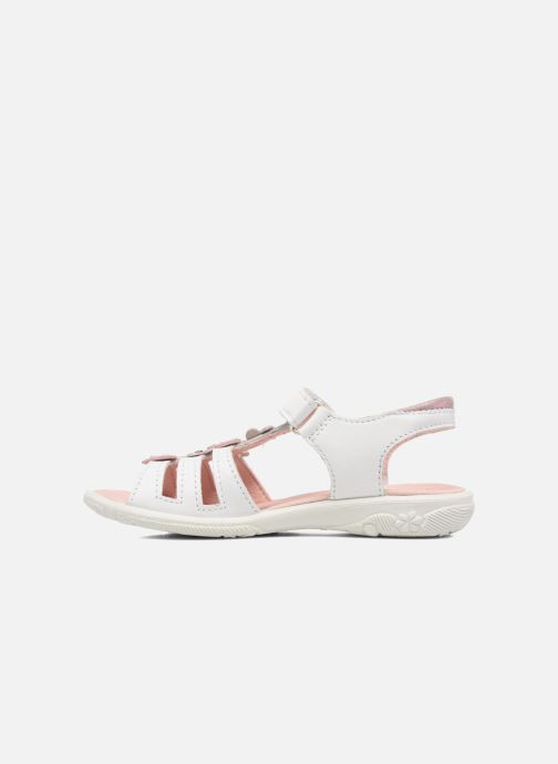 Sandals Ricosta Chica White front view