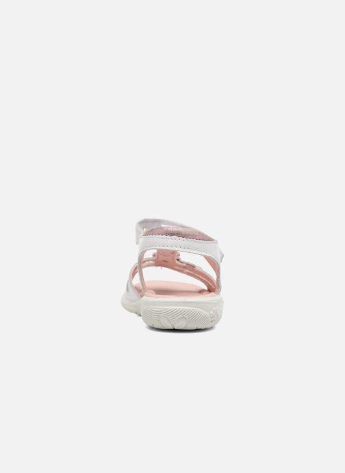 Sandales et nu-pieds Ricosta Chica Blanc vue droite