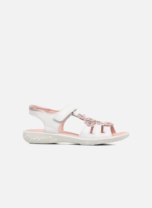 Sandales et nu-pieds Ricosta Chica Blanc vue derrière