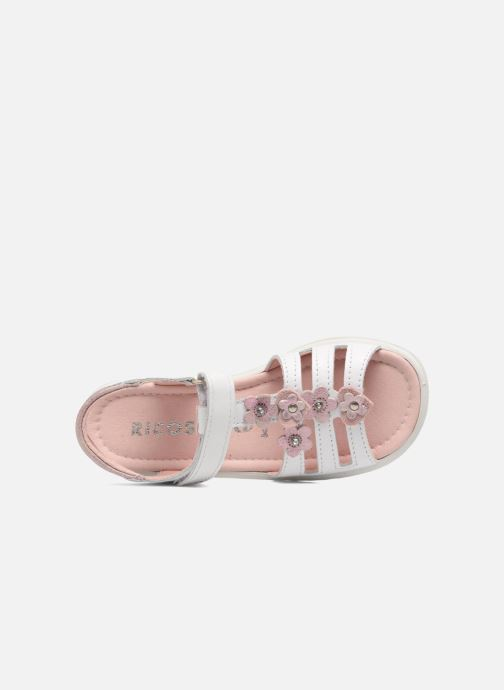 Sandals Ricosta Chica White view from the left