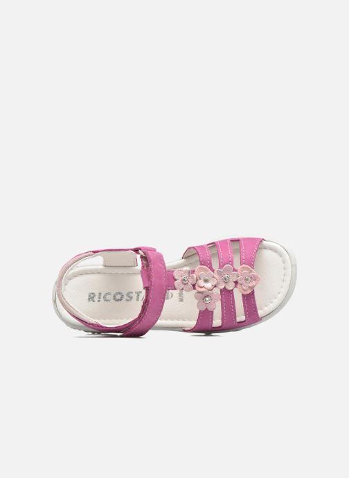 Sandales et nu-pieds Ricosta Chica Rose vue gauche