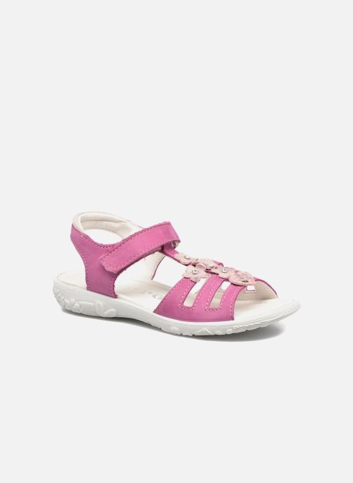 Sandals Ricosta Chica Pink detailed view/ Pair view