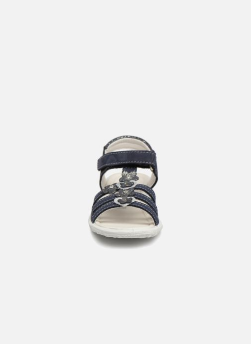 Sandales et nu-pieds Ricosta Chica Bleu vue portées chaussures