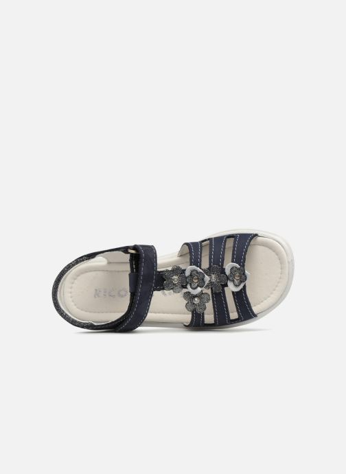 Sandales et nu-pieds Ricosta Chica Bleu vue gauche