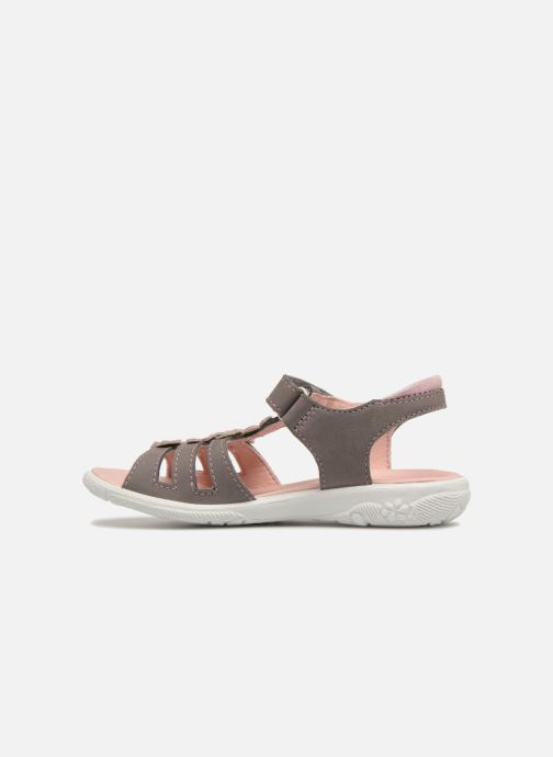 Sandals Ricosta Chica Grey front view