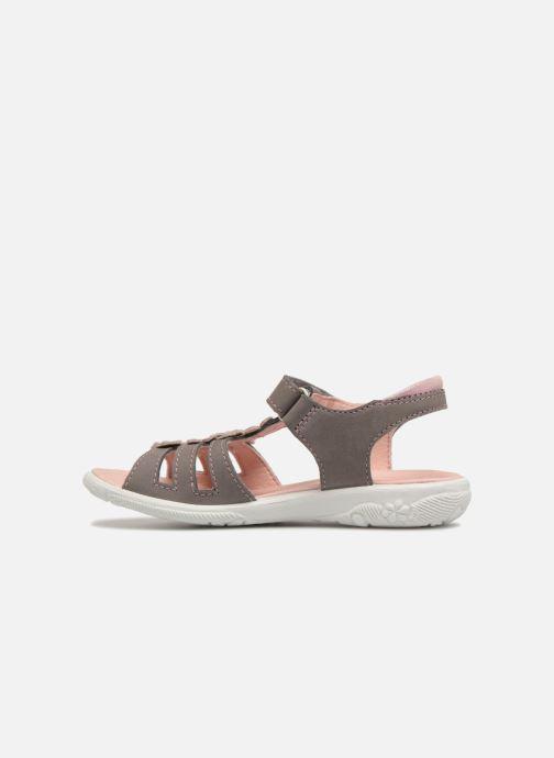 Sandales et nu-pieds Ricosta Chica Gris vue face