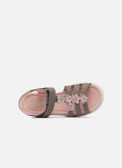 Sandales et nu-pieds Ricosta Chica Gris vue gauche