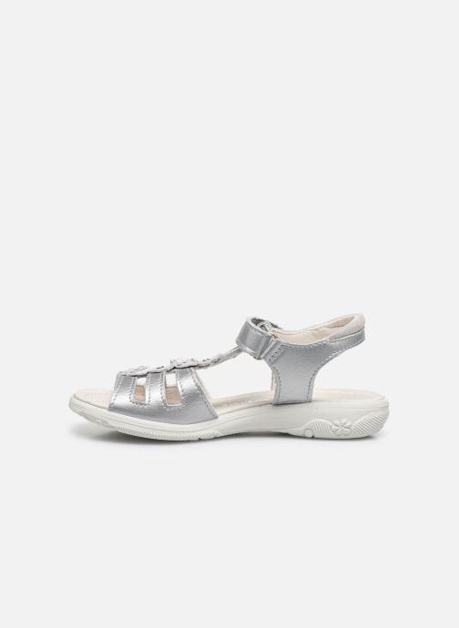 Sandales et nu-pieds Ricosta Chica Argent vue face