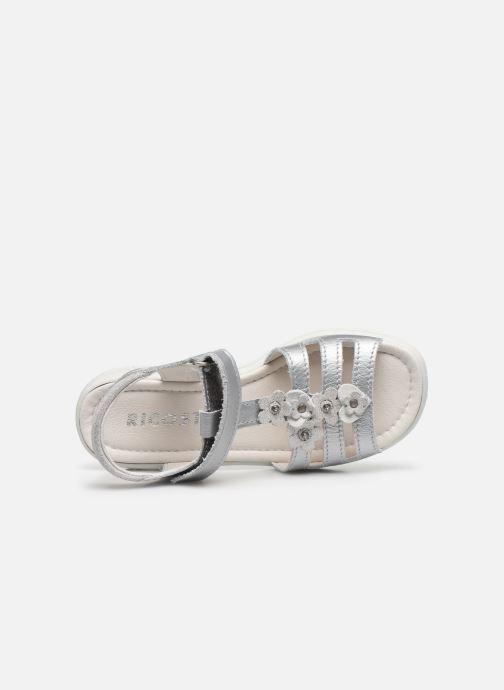 Sandales et nu-pieds Ricosta Chica Argent vue gauche