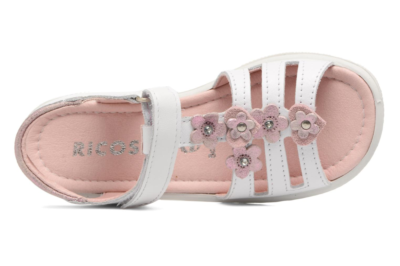 Sandalen Ricosta Chica Wit links