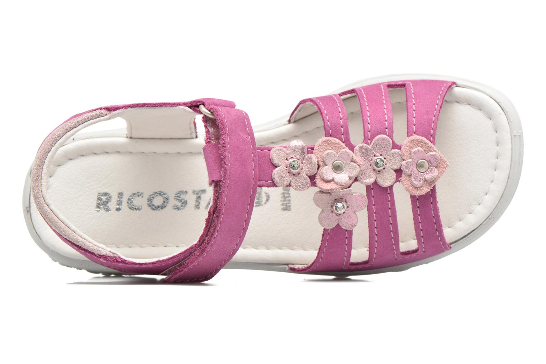 Sandalen Ricosta Chica rosa ansicht von links
