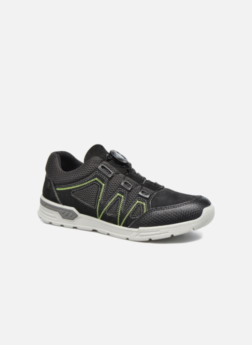 Sport shoes Ricosta Reed Black detailed view/ Pair view