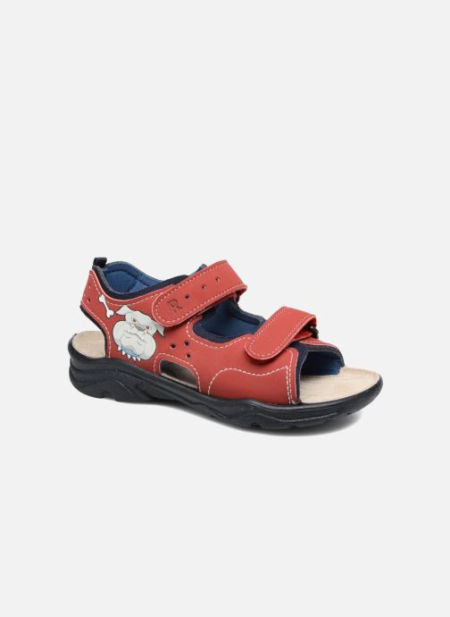 Sandals Ricosta Surf Red detailed view/ Pair view