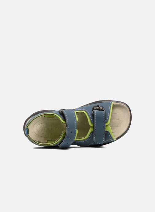 Sandals Ricosta Surf Blue view from the left