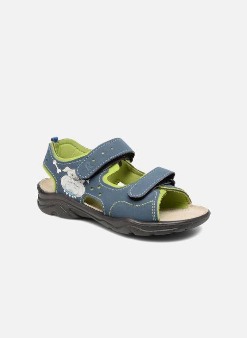 Sandals Ricosta Surf Blue detailed view/ Pair view