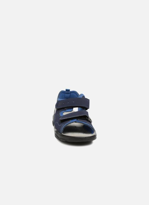 Sandali e scarpe aperte Ricosta Surf Azzurro modello indossato