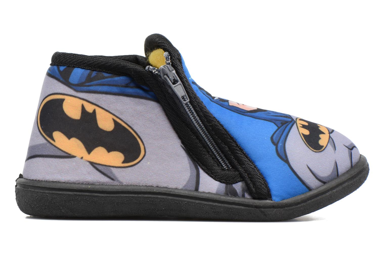 Hjemmesko Batman Bat Bilien Grå se bagfra