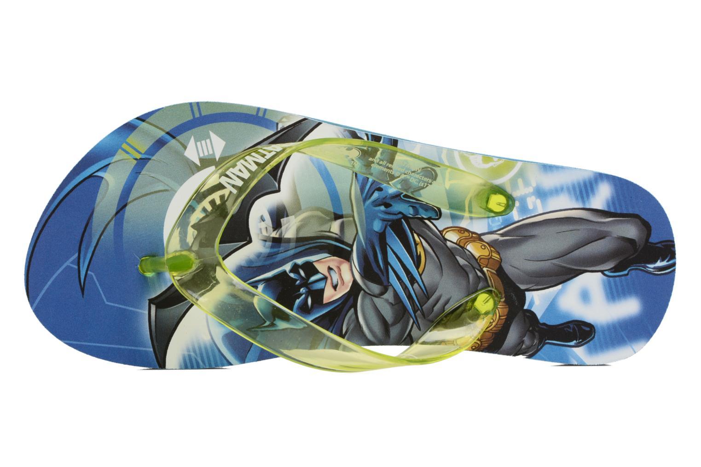 Flip flops Batman Bat Devon Blå bild från vänster sidan