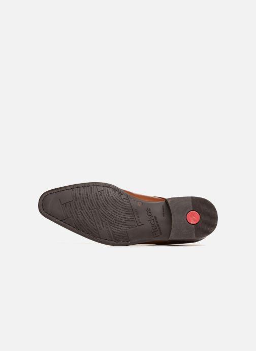 Zapatos con cordones Fluchos Cesar 9668 Marrón vista de arriba