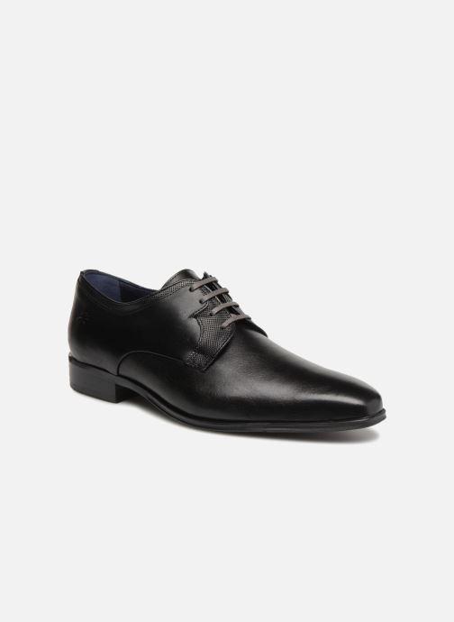 Chaussures à lacets Fluchos Cesar 9668 Noir vue détail/paire