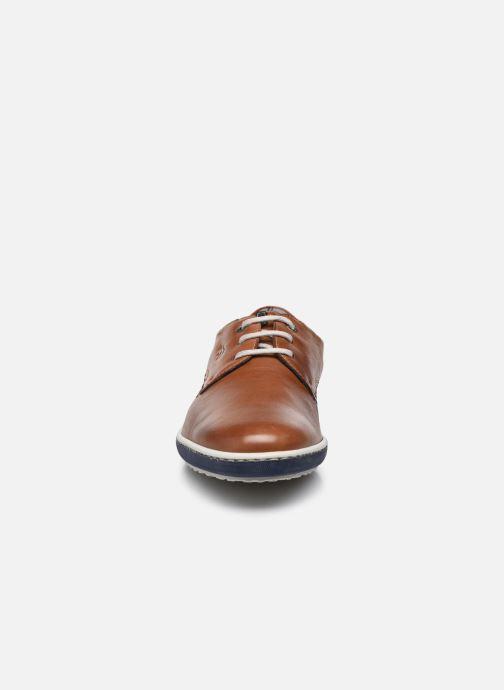 Schnürschuhe Fluchos Pegaso 9710 braun schuhe getragen