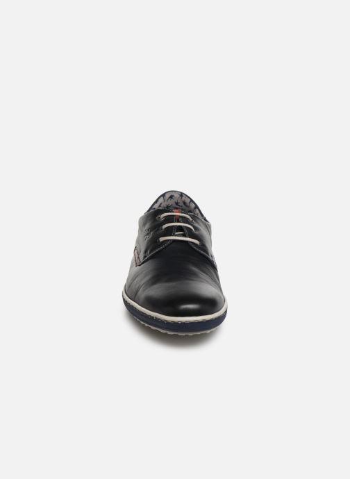 Zapatos con cordones Fluchos Pegaso 9710 Azul vista del modelo