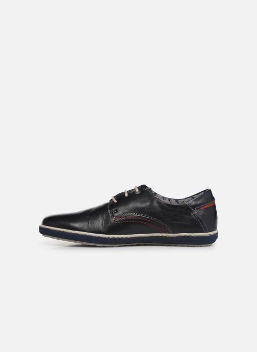 Zapatos con cordones Fluchos Pegaso 9710 Azul vista de frente