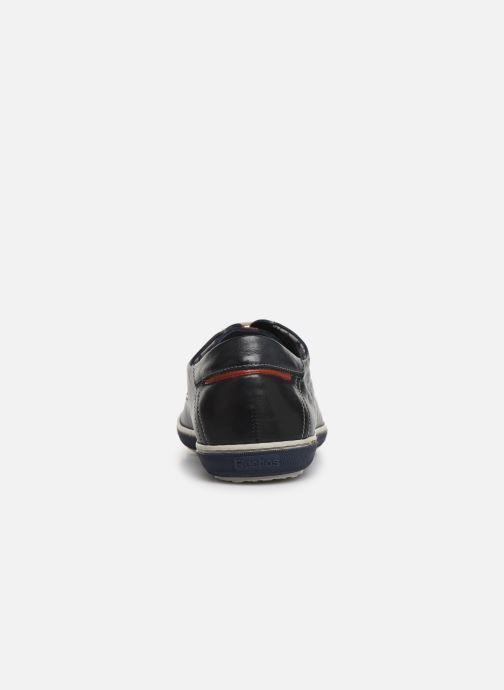 Chaussures à lacets Fluchos Pegaso 9710 Bleu vue droite
