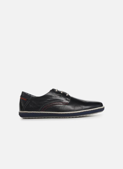 Zapatos con cordones Fluchos Pegaso 9710 Azul vistra trasera
