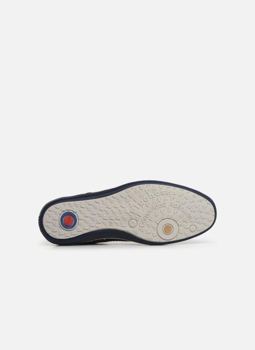 Zapatos con cordones Fluchos Pegaso 9710 Azul vista de arriba