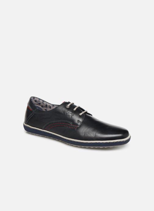 Zapatos con cordones Fluchos Pegaso 9710 Azul vista de detalle / par