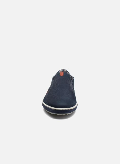 Mocassins Fluchos Pegaso 9707 Bleu vue portées chaussures