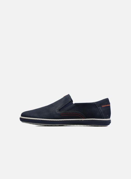 Loafers Fluchos Pegaso 9707 Blue front view