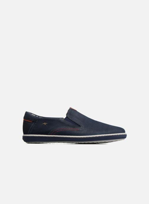 Loafers Fluchos Pegaso 9707 Blue back view