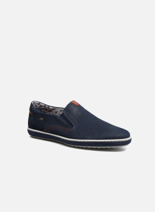 Loafers Fluchos Pegaso 9707 Blue detailed view/ Pair view