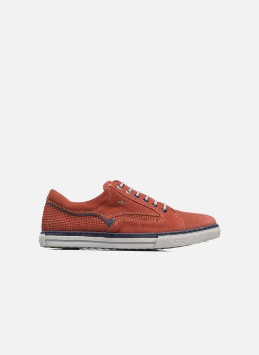 Sneaker Fluchos Quebec 9372 rot ansicht von hinten