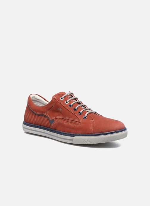 Sneaker Fluchos Quebec 9372 rot detaillierte ansicht/modell