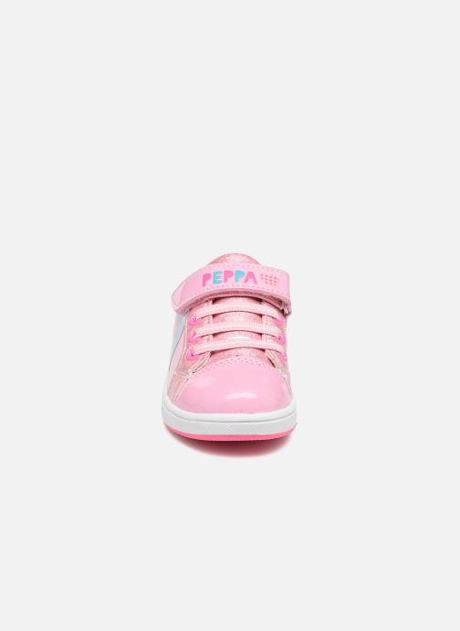 Baskets Peppa Pig PP NAHUM Rose vue portées chaussures